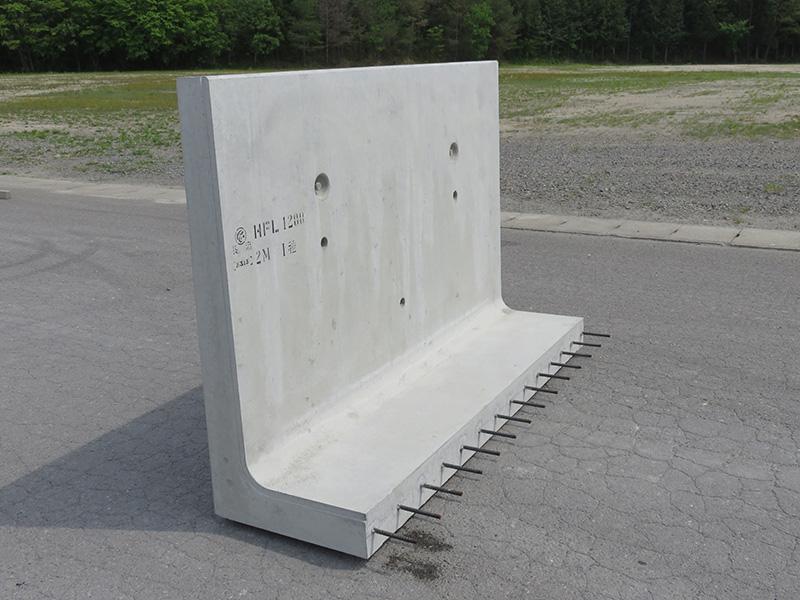 鉄筋コンクリートL型水路
